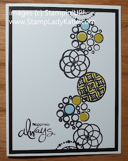 Card made with Stampin'UP! Stamp set:  Circle Circus