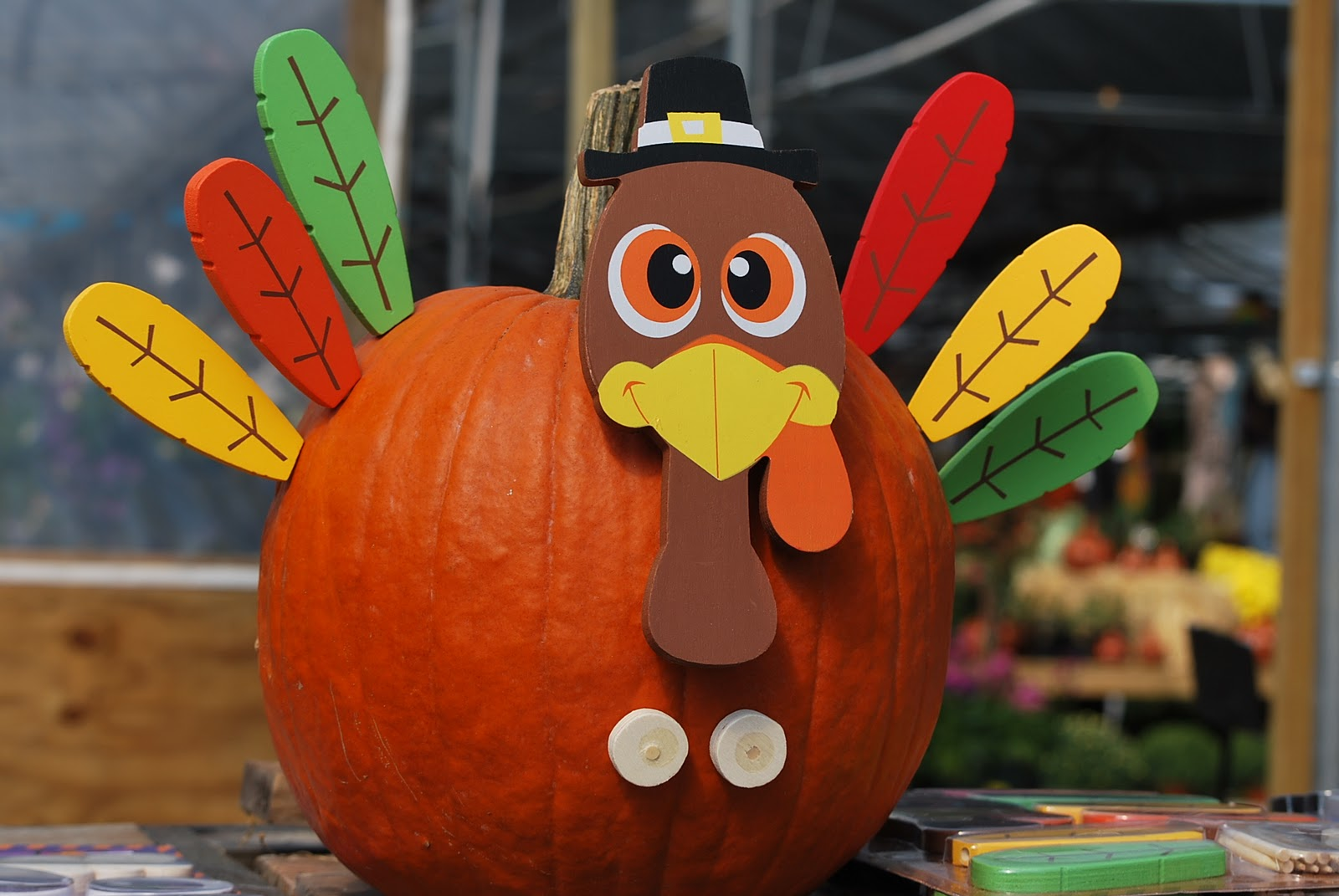 A Pumpkin Like A Turkey