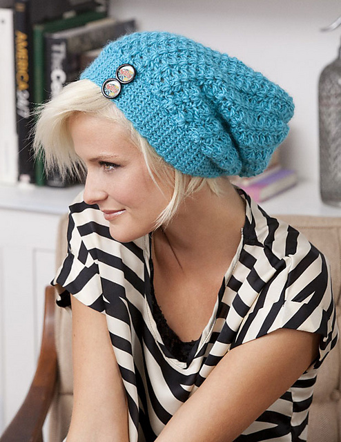 How to Crochet a Simple Slouchy Beret | eHow.com