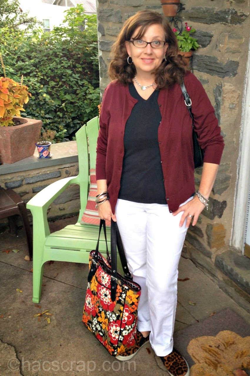Mid-Life Mom Style | Color Scheme Outfit