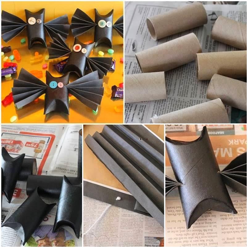 Pipistrelli Con Rotoli Di Carta Igienica La Casa Delle Idee