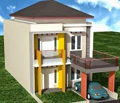 desain rumah sederhana minimalis cantik 2 lantai terbaru