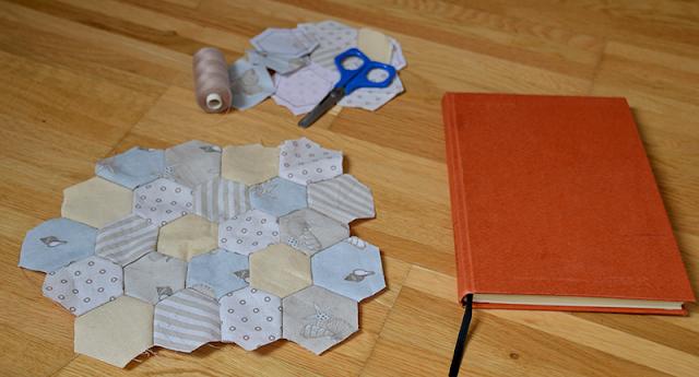 Hexagone handgenäht | Vorderseite | freinaht.blogspot.com