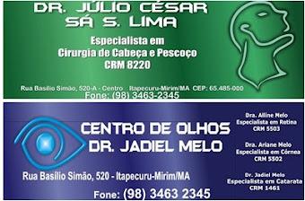 CENTRO DE OLHOS DRº JADIEL MELO