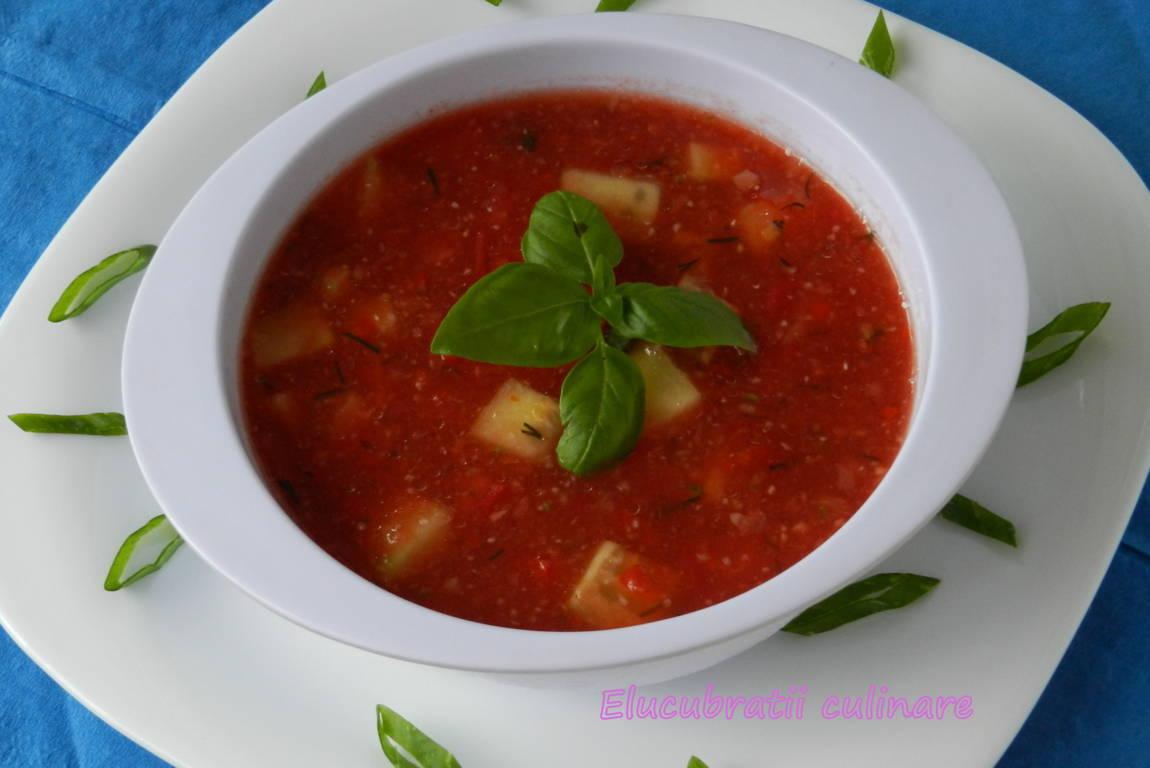 Elucubratii culinare: Gazpacho mexican