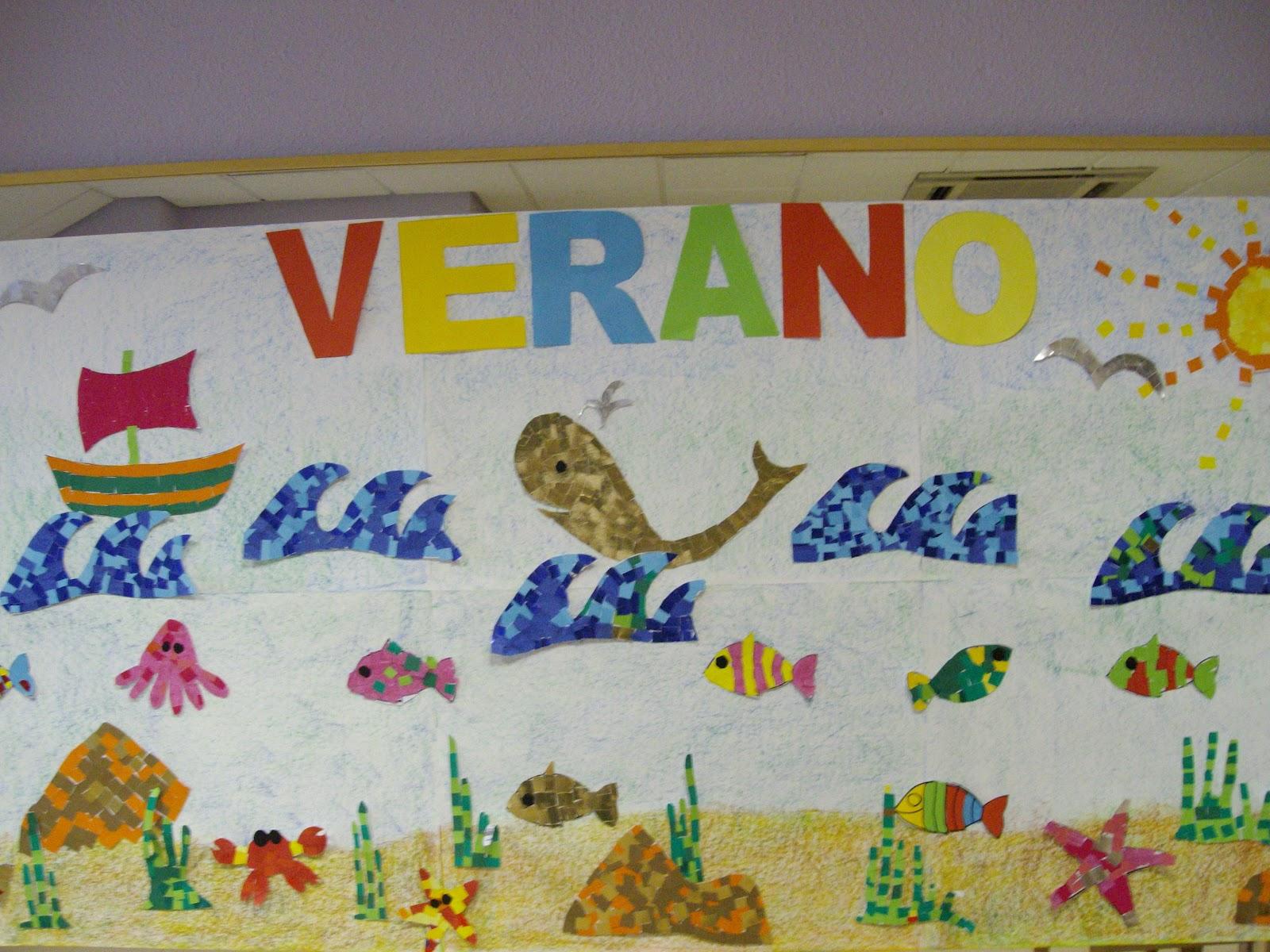 Fundaci n federico ozanam una variada oferta de for Decoracion verano para jardin infantil