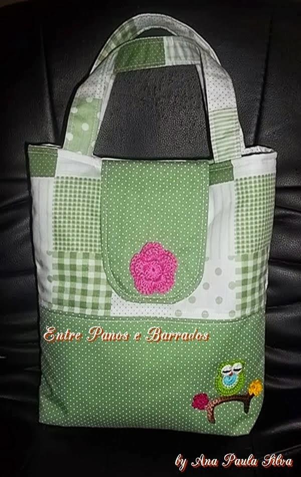 Minha bolsa da 1ª Confraria da costura