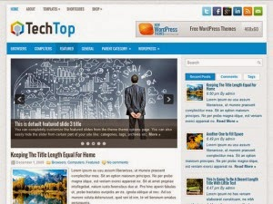 TechTop - Free Wordpress Theme