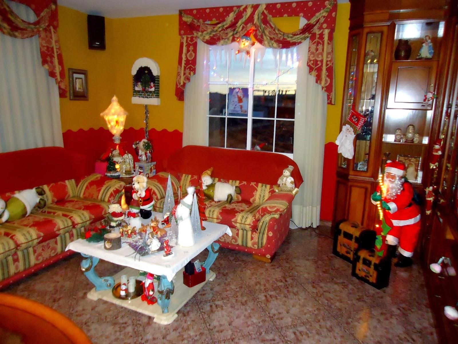 Centro de estudios borjanos decoraci n navide a en una - Decoracion navidena casas ...