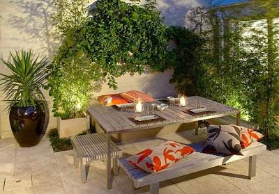 Dise os patios peque os y modernos patios y jardines for Diseno patios pequenos