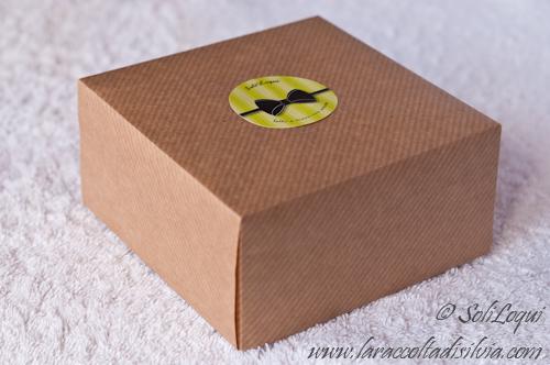 scatola carta da pacchi