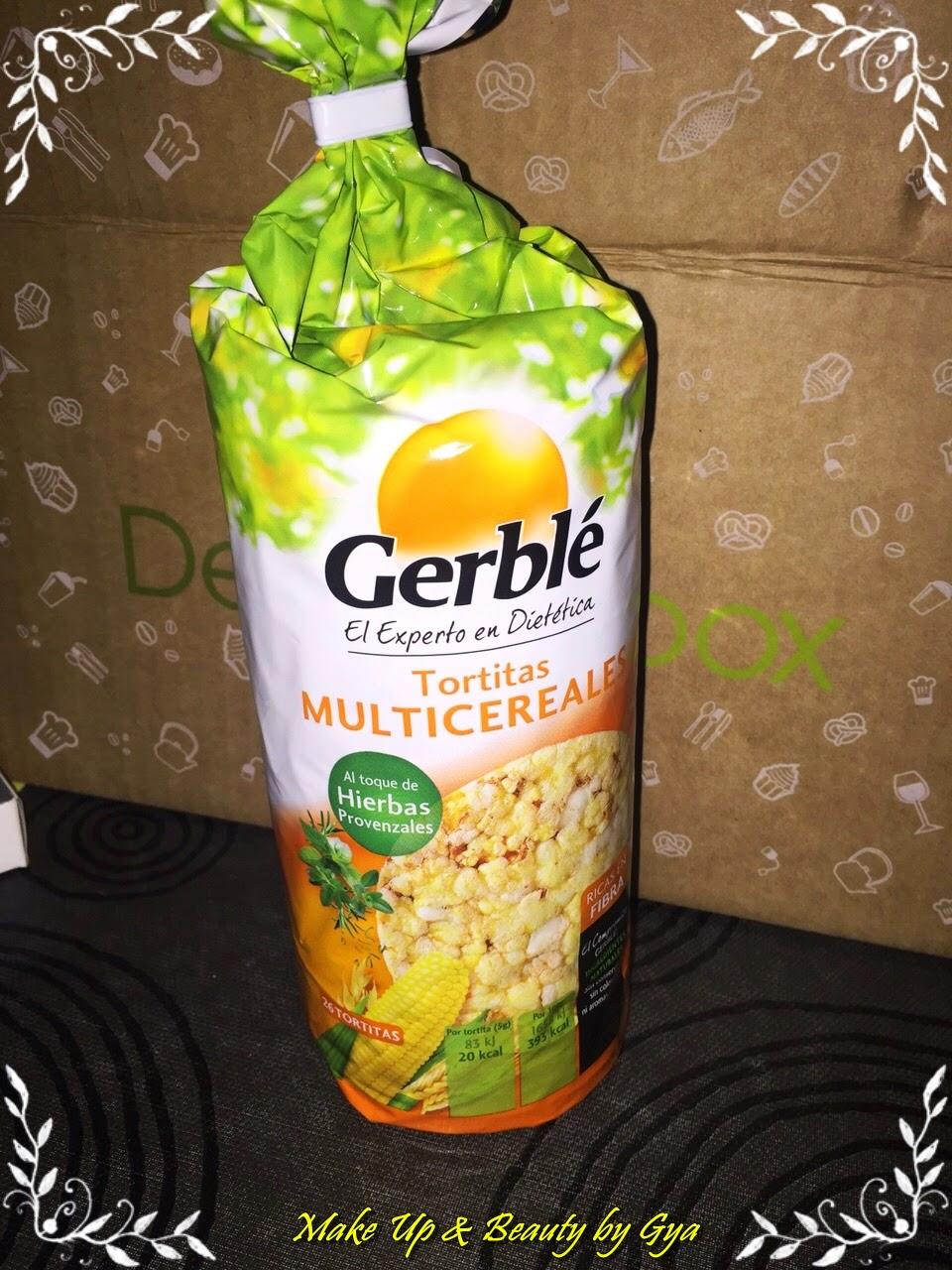 Gerblé degustabox marzo 2015