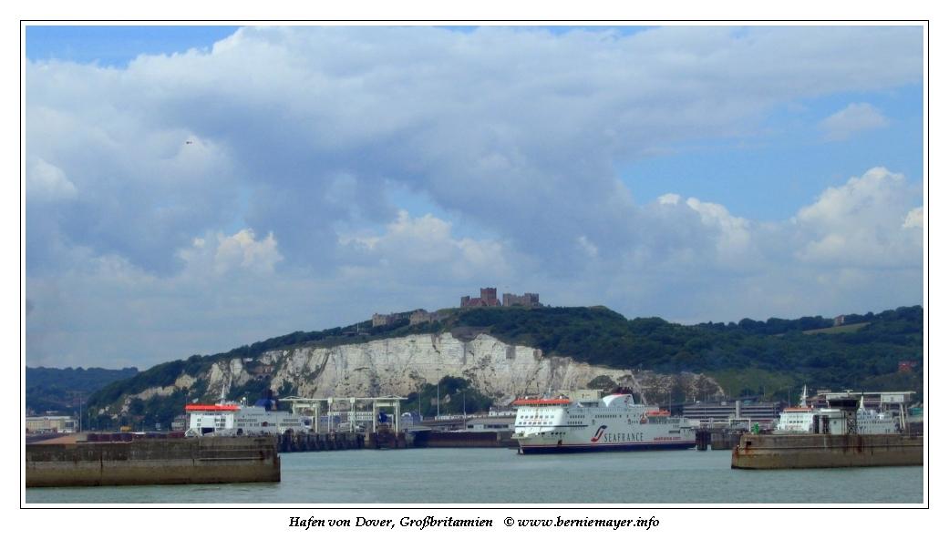 Hafen & Festung von Dover