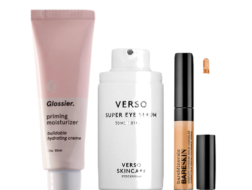 Things I recommended in my requested list about undereye circles