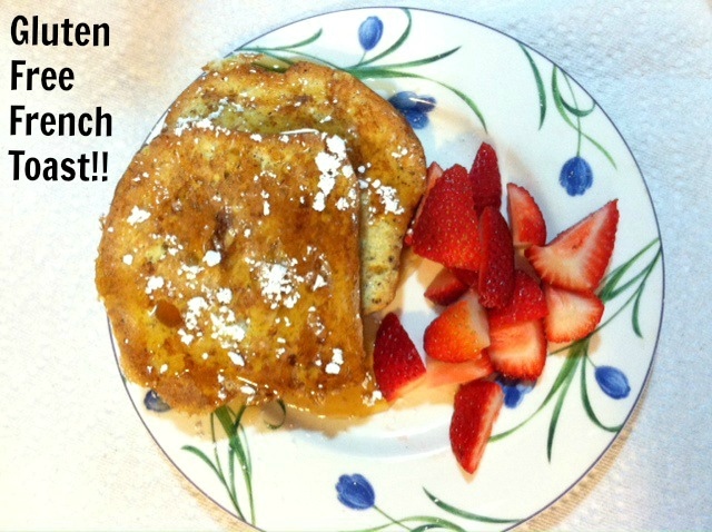 Polka Dots And Pig Kisses : Gluten Free French Toast