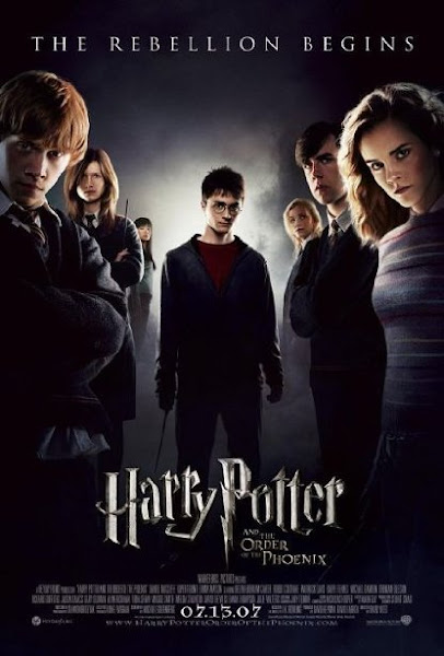 Poster Of Harry Potter and the Order of the Phoenix 2007 720p Hindi BRRip Dual Audio