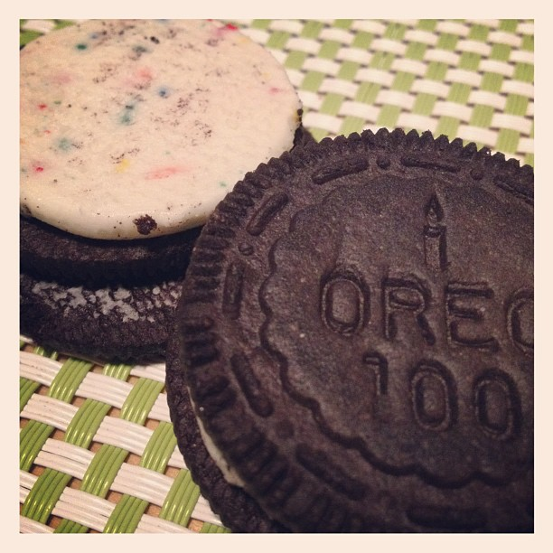 Oreo Special Edition Birthday Cake