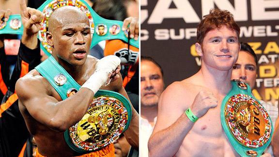 Canelo Alvarez vs Floyd Mayweather En Vivo