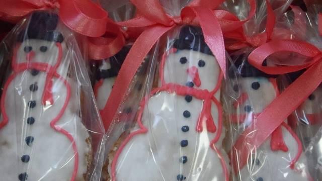 Biscoito boneco de Neve