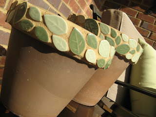 Clay Pot mosaic project