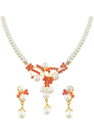 Beautiful Pearl Jewellery Design