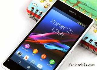 Sony Xperia Z1,Sony Xperia,android smartphone,best android smartphone