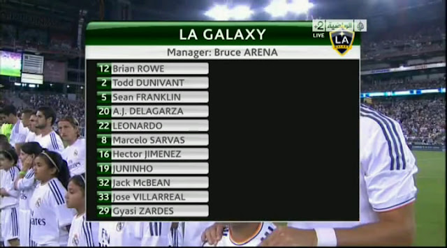 Real Madrid vs Los Angeles Galaxy