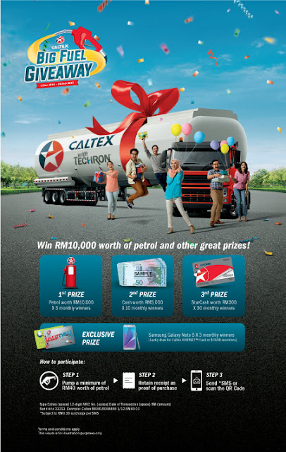 Big Fuel Giveaway Caltex