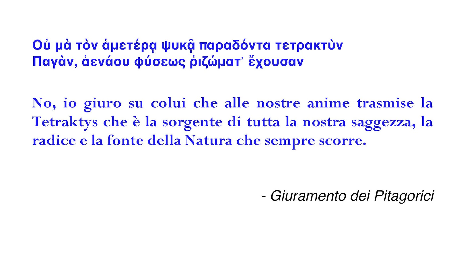 frasi in greco antico sulla vita