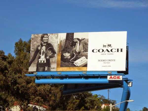 Coach NY FW14 billboard