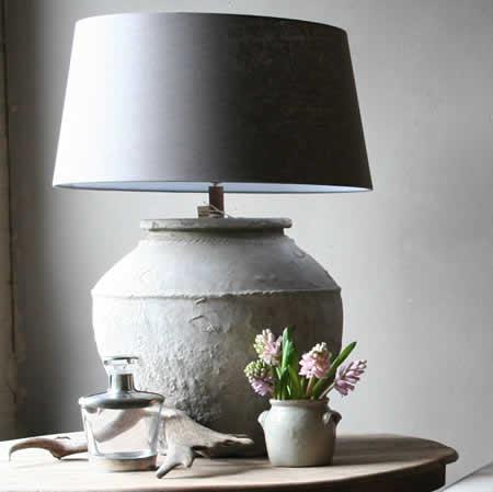 The paper mulberry glorious grey for Landelijke lampen