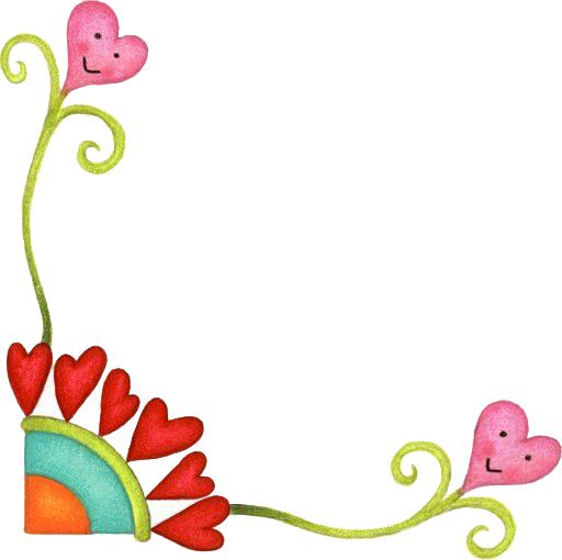 Bordes para tarjetas de flores for Adornos para paginas