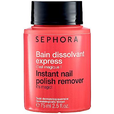 Sephora, Sephora Instant Nail Polish Remover, cleanser, skin, skincare, skin care, Halloween makeup, makeup remover, nails, nail polish, nail lacquer, nail varnish