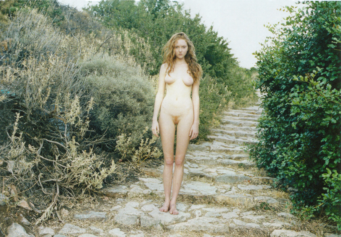 lily cole by juergen teller