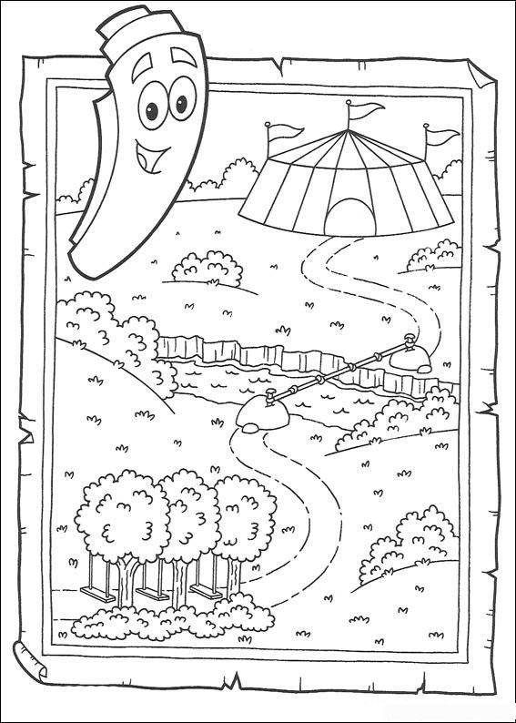 Как сделать карту для даши
