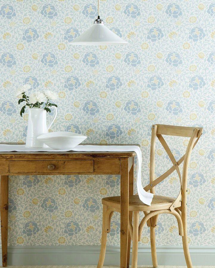 Papel pintado para la cocina de verano mi casa es feng - Casas de papel pintado ...