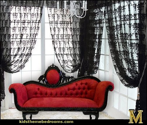 Gothic style bedroom decorating ideas gothic chic victorian gothic