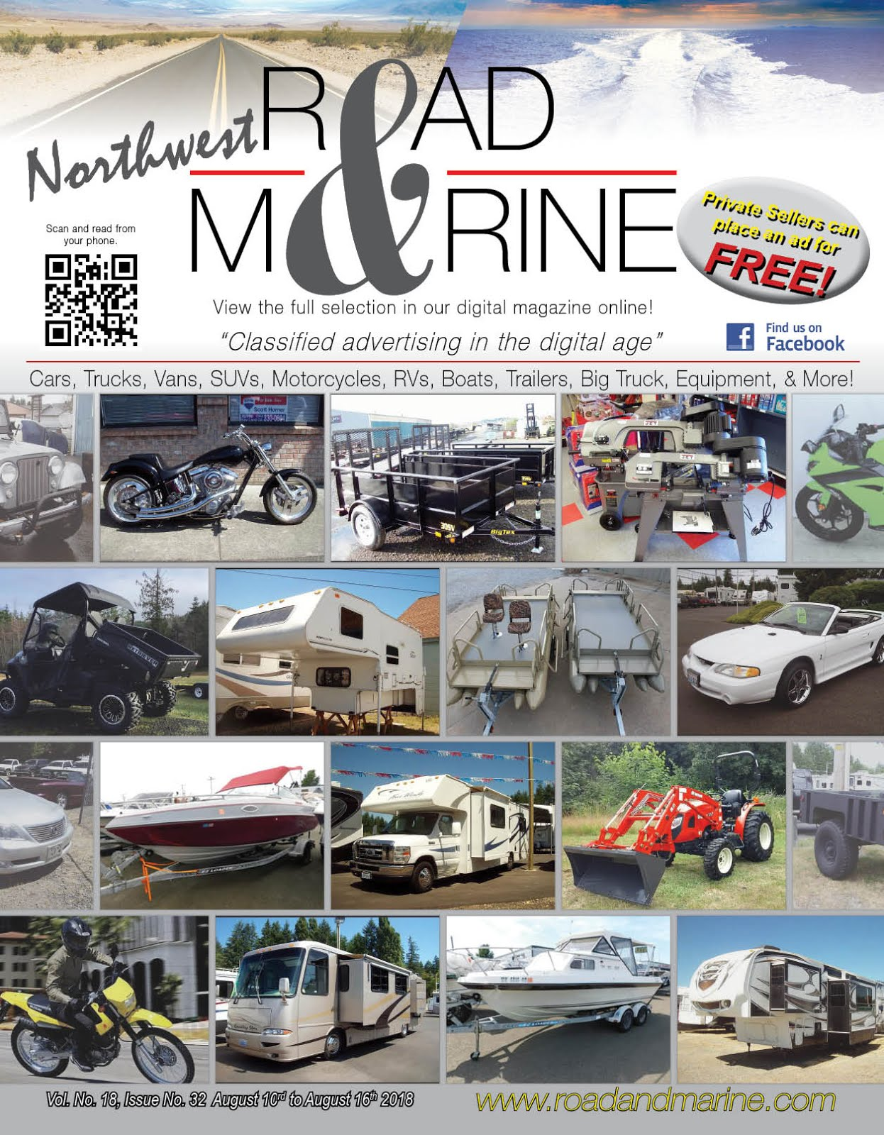 NW Road & Marine Glossy & Digital Magazines!!