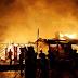 Kantor Satuan Lalu Lintas Polres Manokwari Habis Dilalap Api