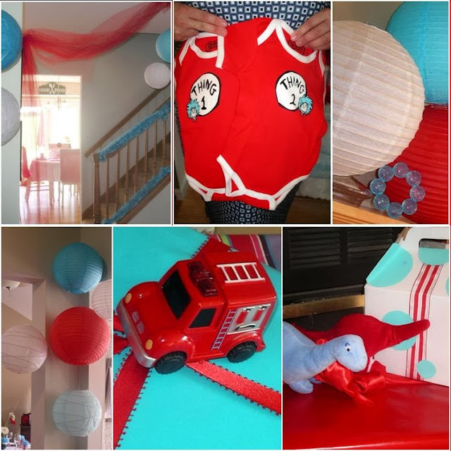 It's A Twin Thing / Dr Seuss Baby Shower