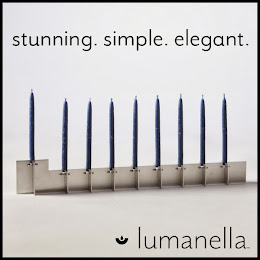 NEW! Chanukah Menorah by Lumanella