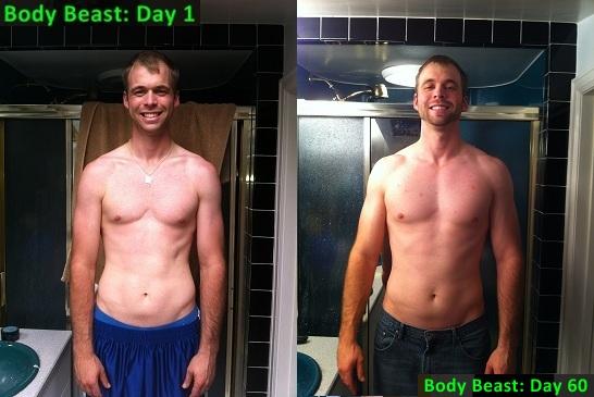 Coach Harrington: My Body Beast 60 Day Transformation