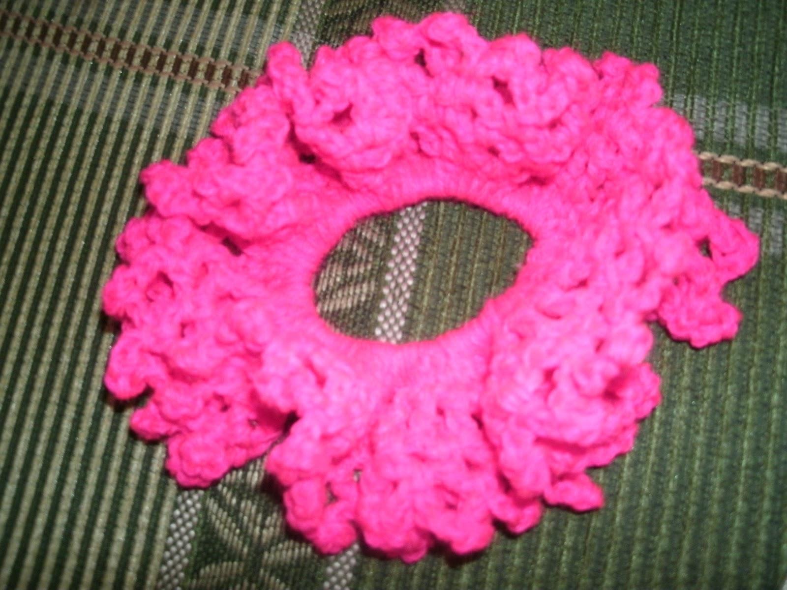 Accesorios para el cabello tejidos a crochet,