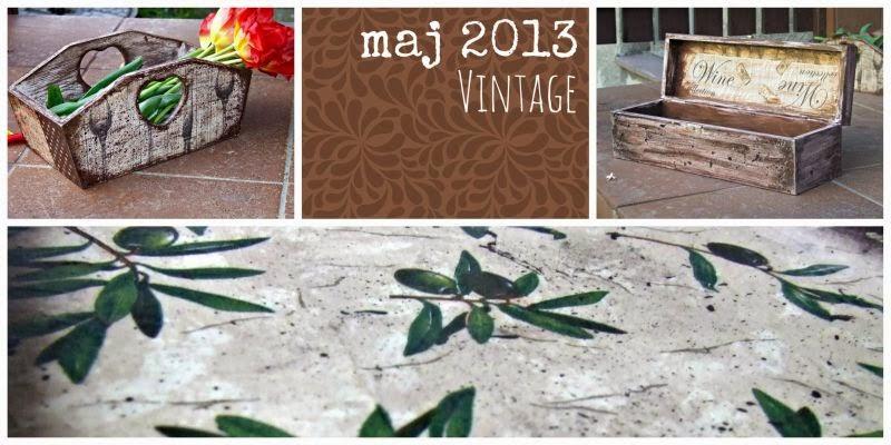 Blog decoupage vintage 2013 Eco Manufaktura