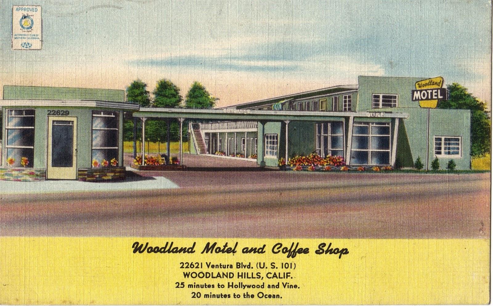 Woodland Hills Postcards San Fernando Valley Blog
