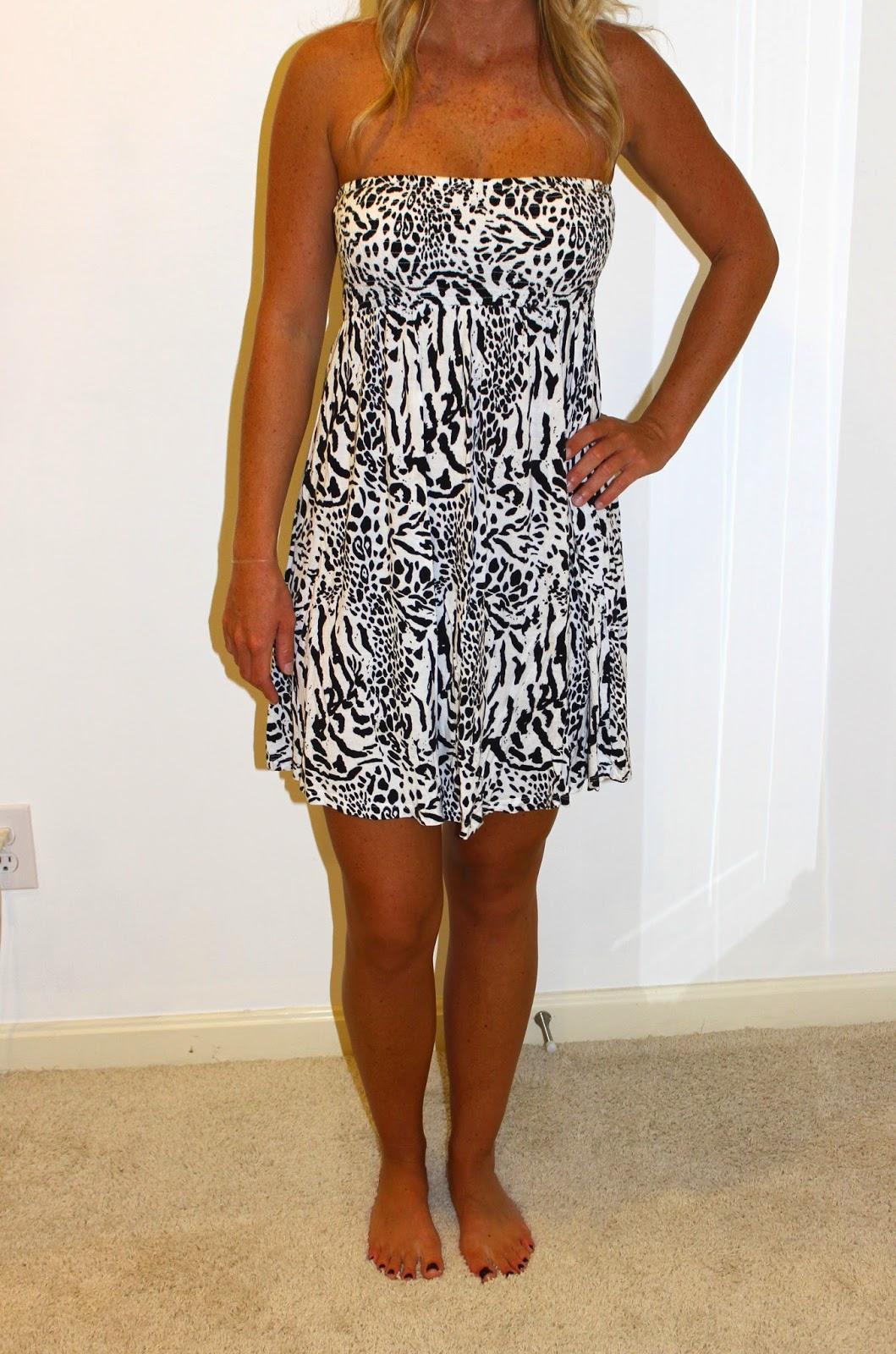 ebay leopard sundress