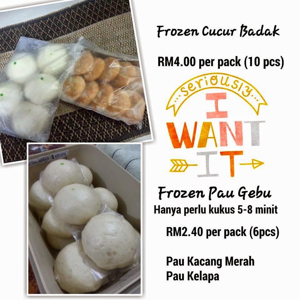 Frozen Pau & Cucur Badak