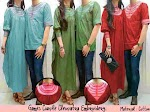GC1280 Gamis Couple Cleopatra Embroidery HABIS