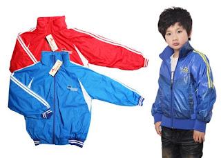 Thanh lý áo khoác 2 lớp lót nỉ cho bé trai