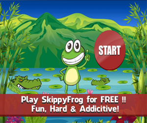 Game of the Month - Skippy Frog